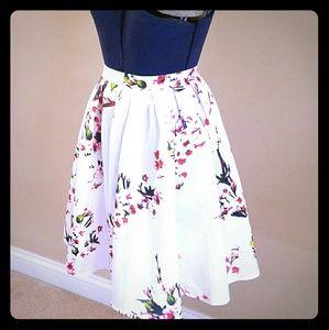 Dresses & Skirts - Cherry Blossom Midi Skirt
